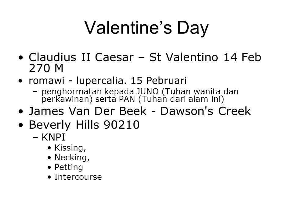 Valentine's Day Claudius II Caesar – St Valentino 14 Feb 270 M