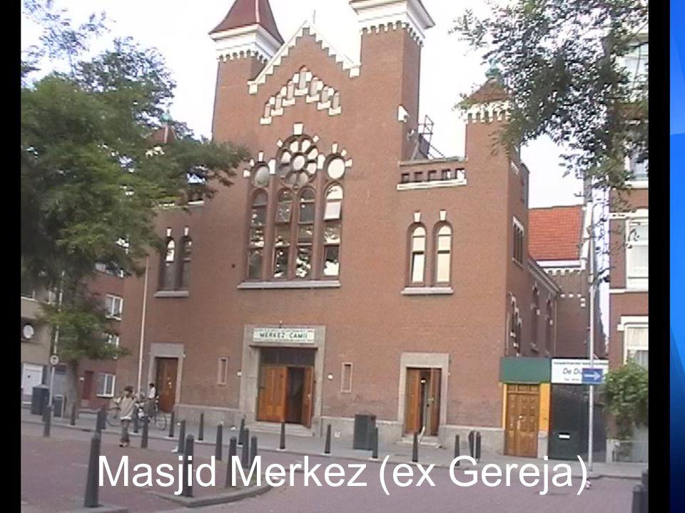 Masjid Merkez (ex Gereja)