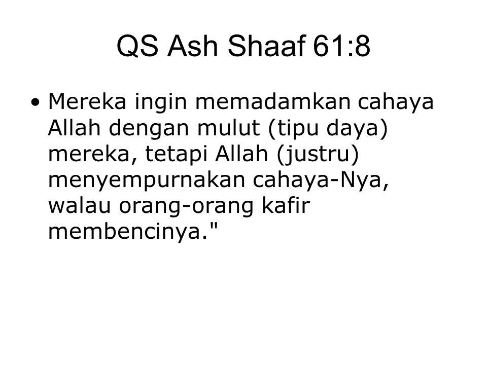 QS Ash Shaaf 61:8