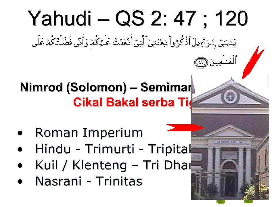 Nimrod (Solomon) – Semimaris - Talmud