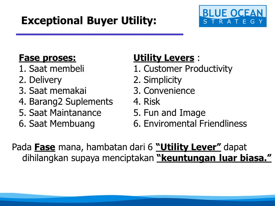 Exceptional Buyer Utility: