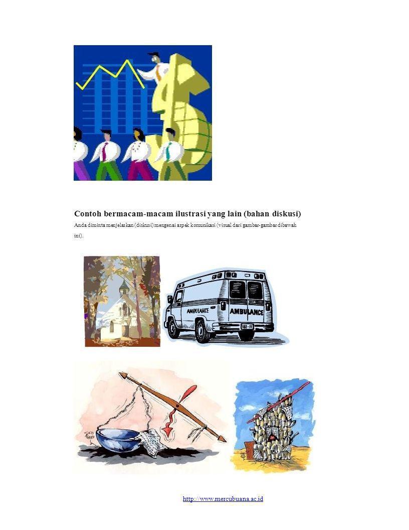 Contoh bermacam-macam ilustrasi yang lain (bahan diskusi)