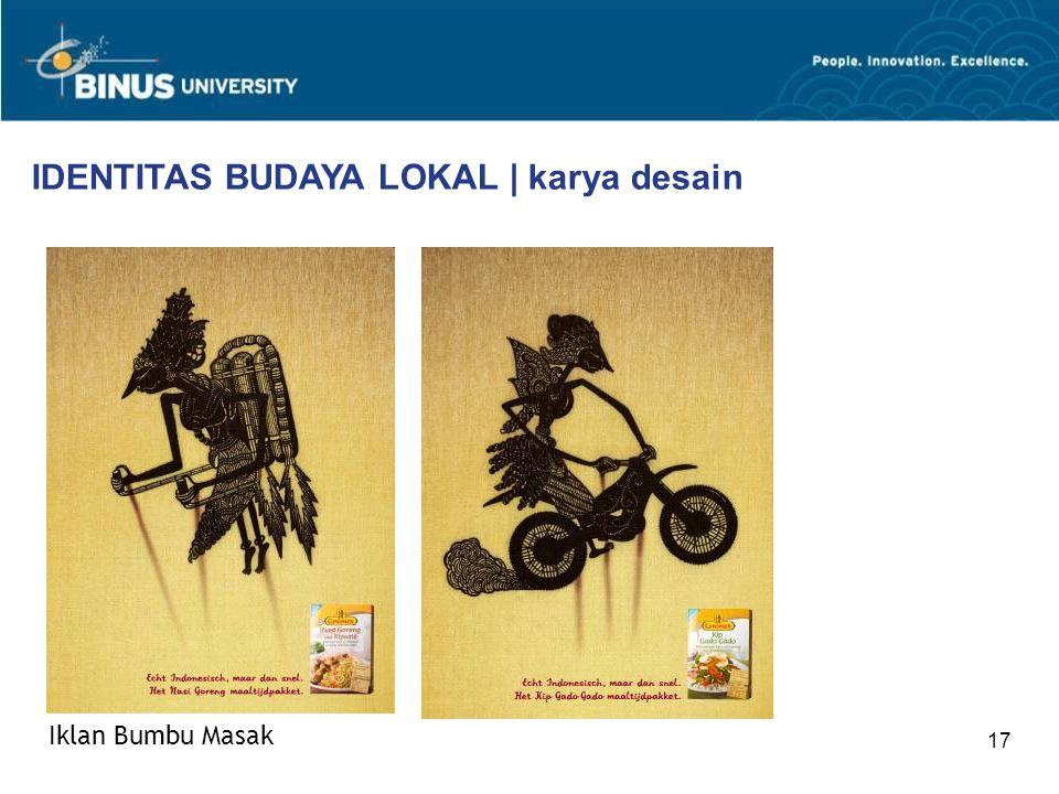 IDENTITAS BUDAYA LOKAL | karya desain