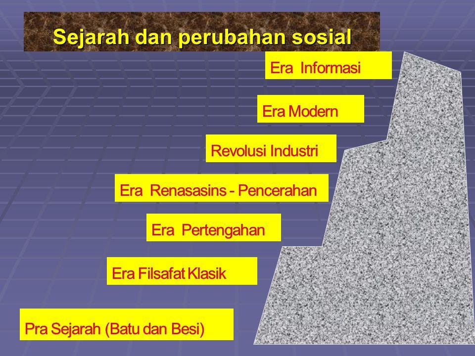 Sejarah dan perubahan sosial