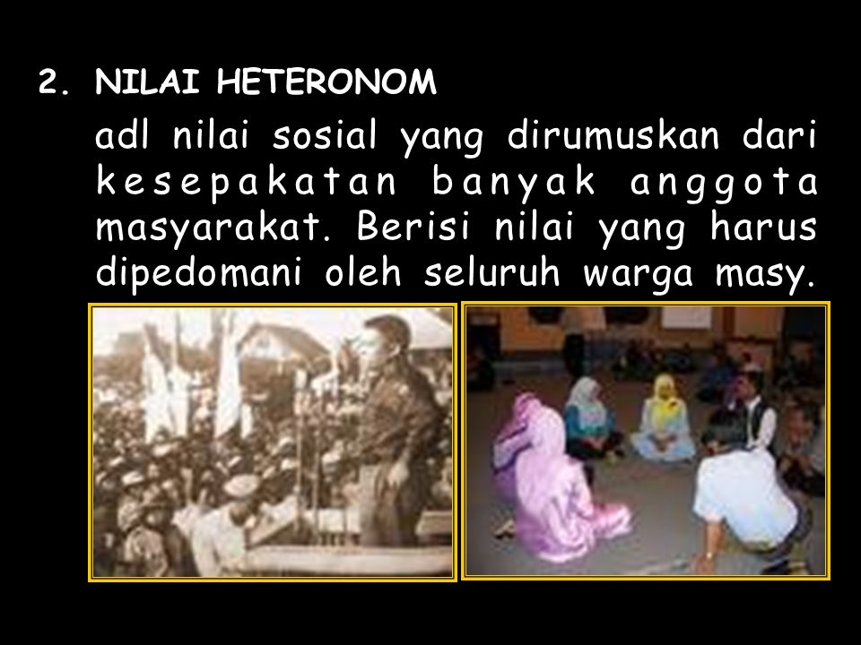 NILAI HETERONOM