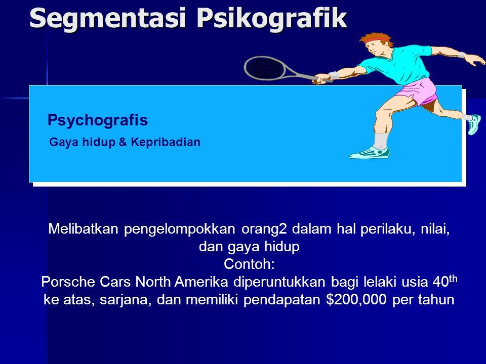 Segmentasi Psikografik