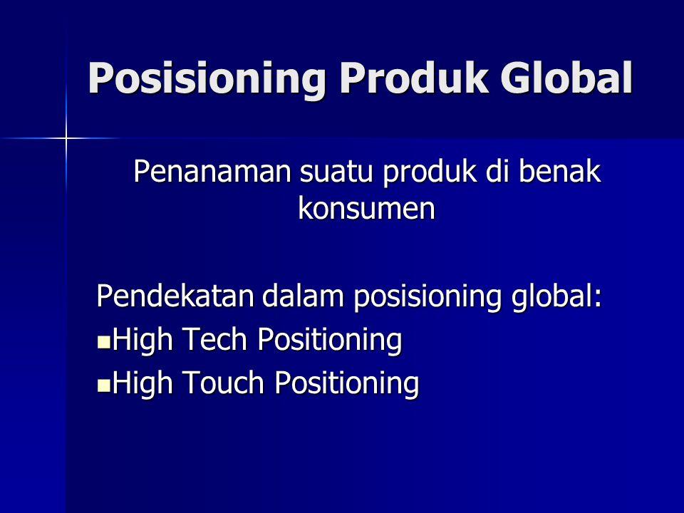 Posisioning Produk Global