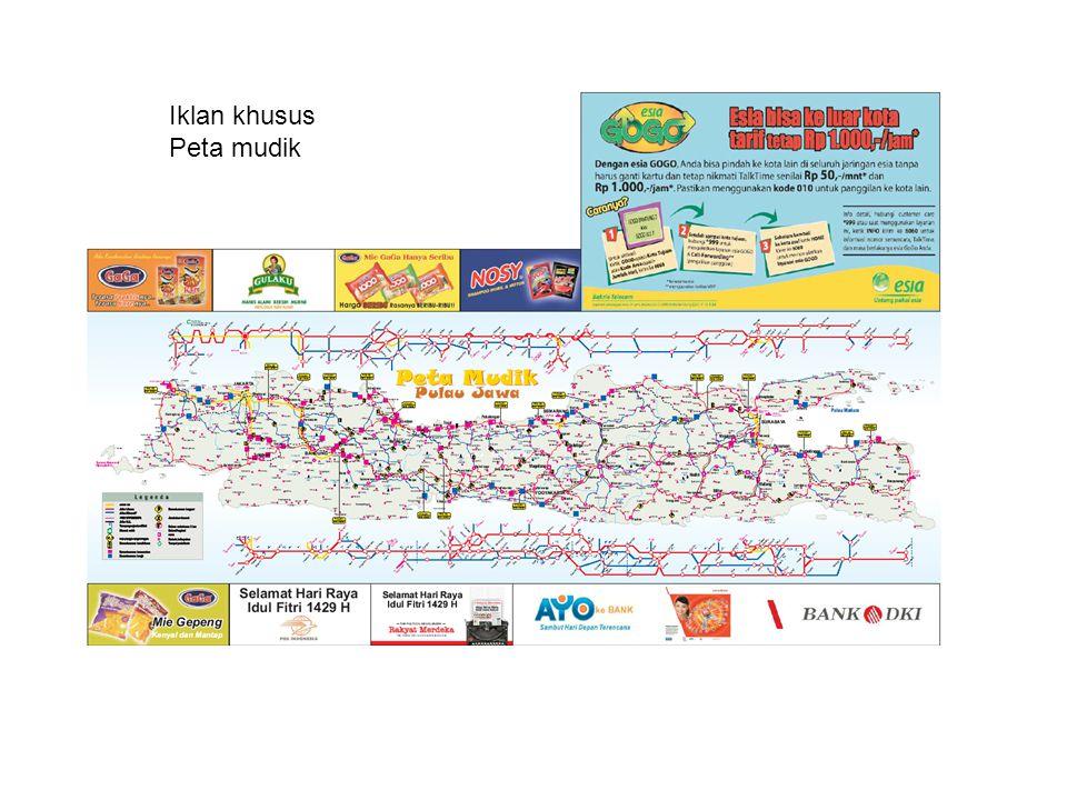 Iklan khusus Peta mudik