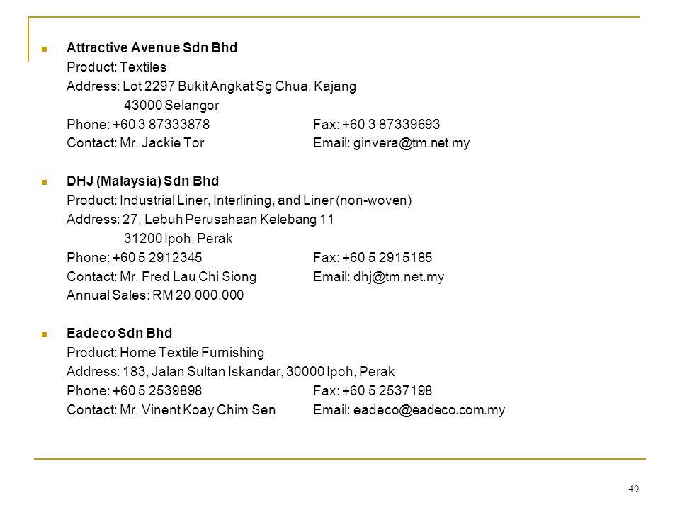 Attractive Avenue Sdn Bhd