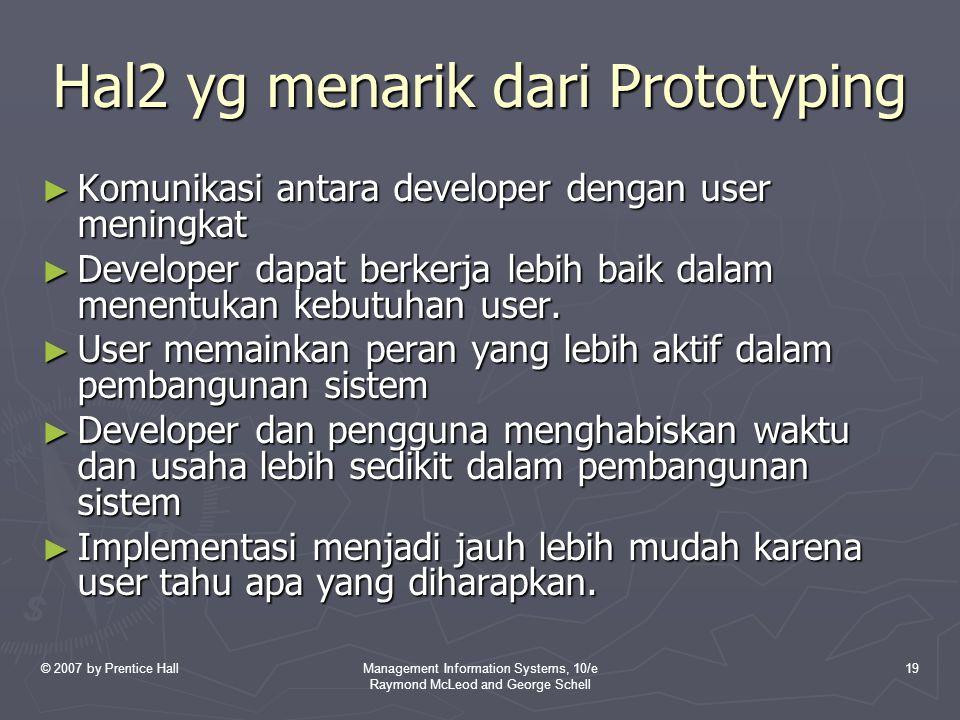 Hal2 yg menarik dari Prototyping