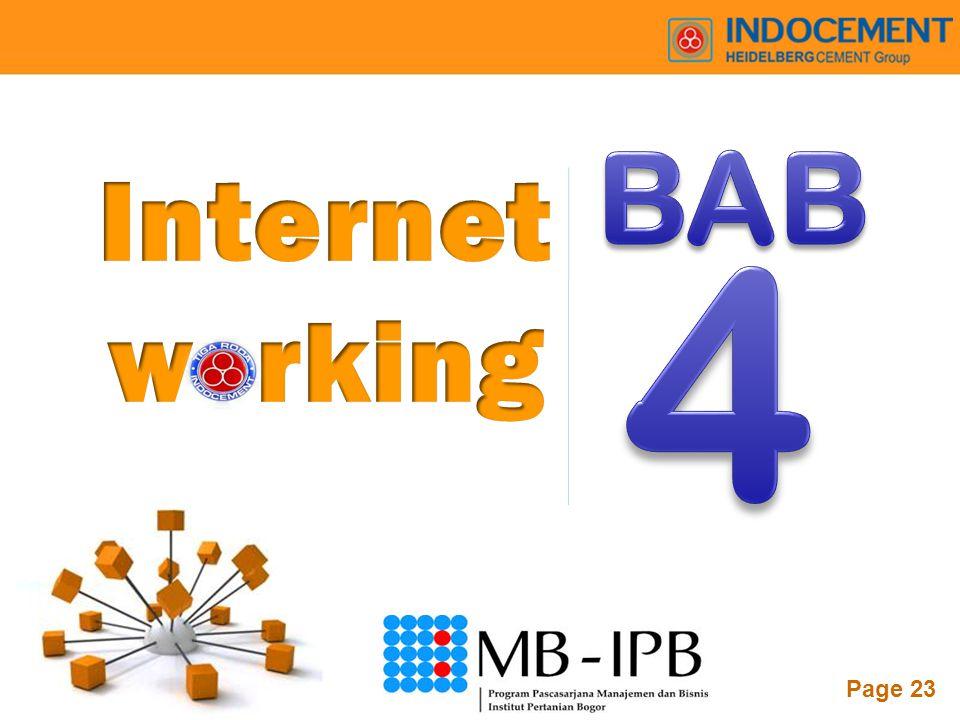 BAB Internet w rking 4