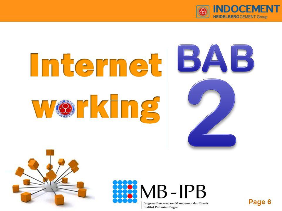 BAB Internet w rking 2
