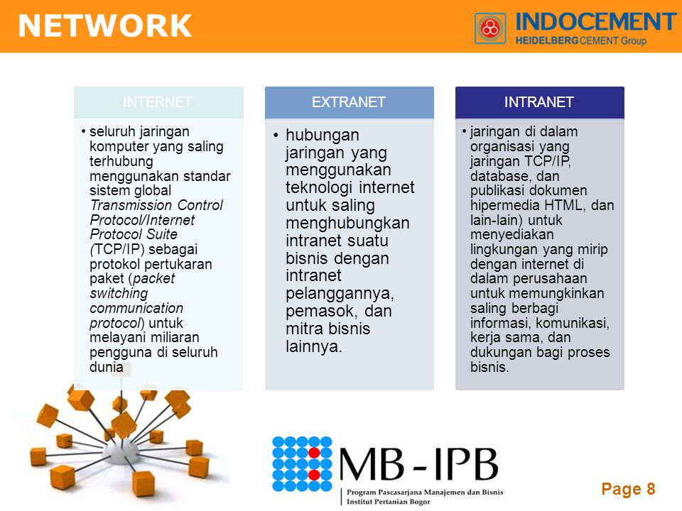 NETWORK INTERNET.