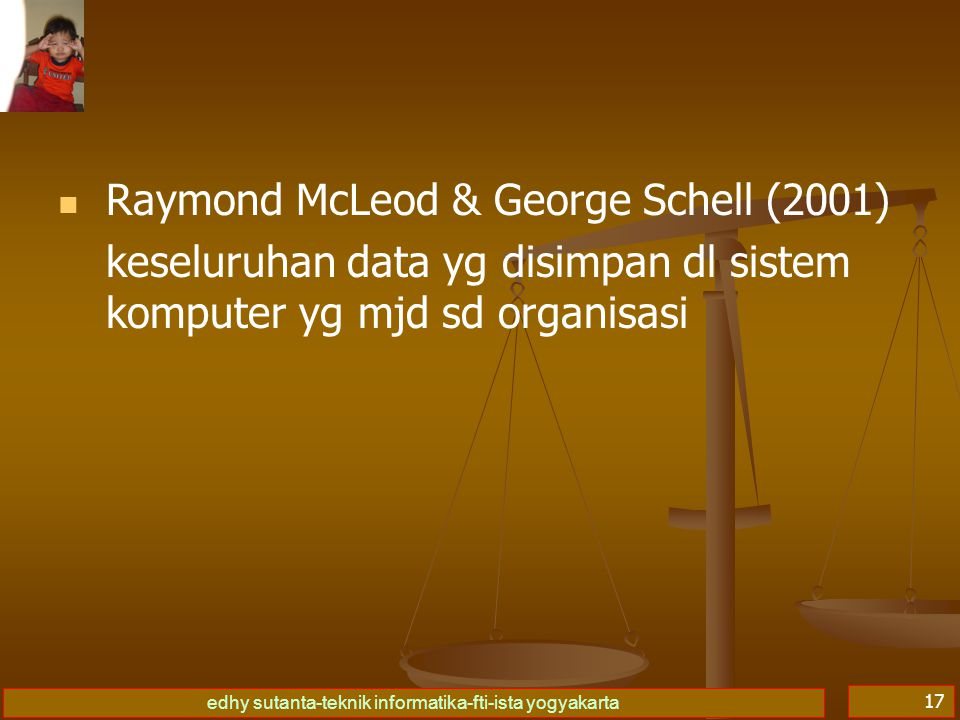 Raymond McLeod & George Schell (2001)