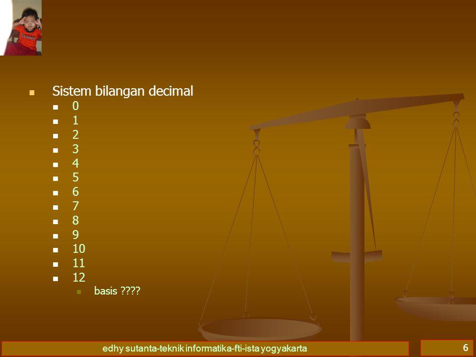Sistem bilangan decimal