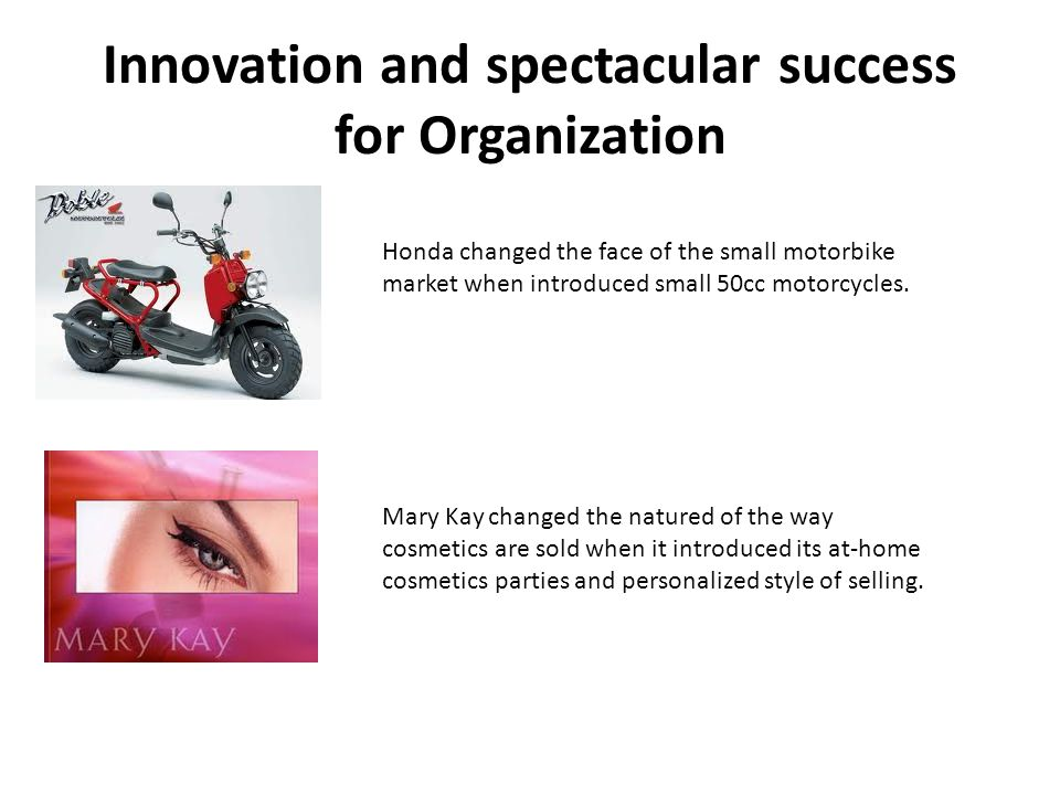 Innovation and spectacular success for Organization