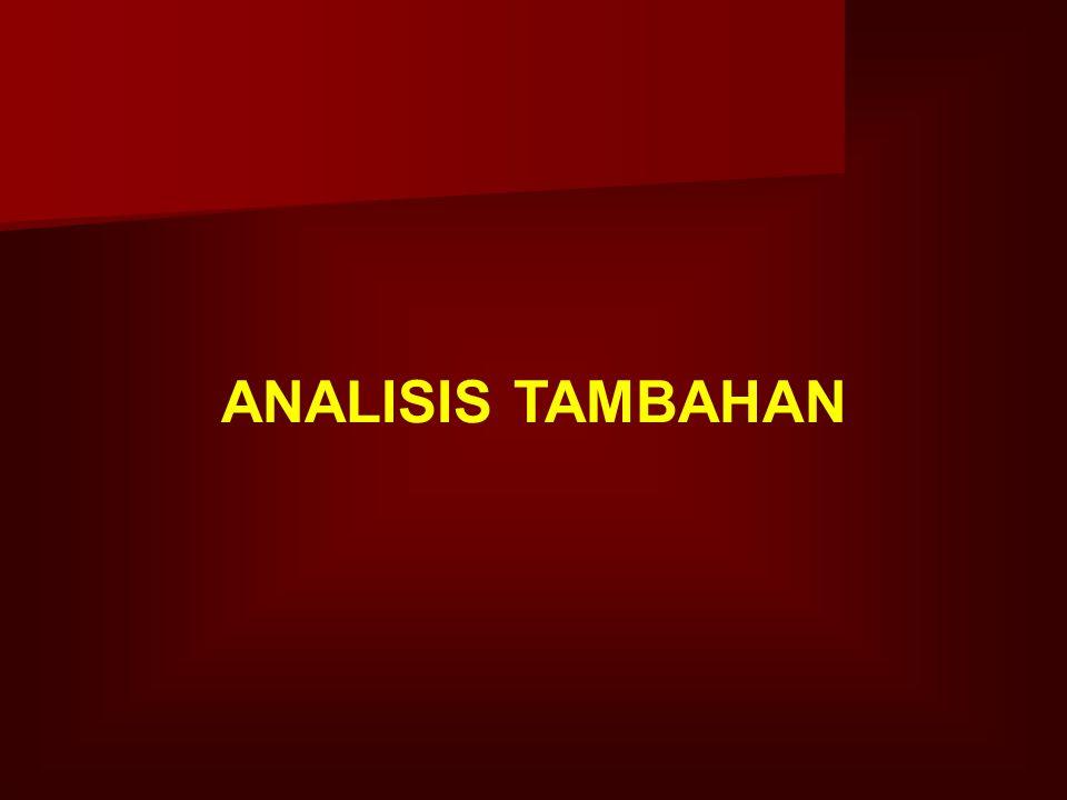 ANALISIS TAMBAHAN