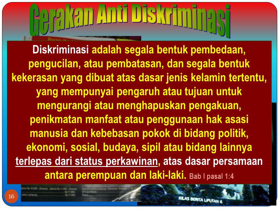 Gerakan Anti Diskriminasi