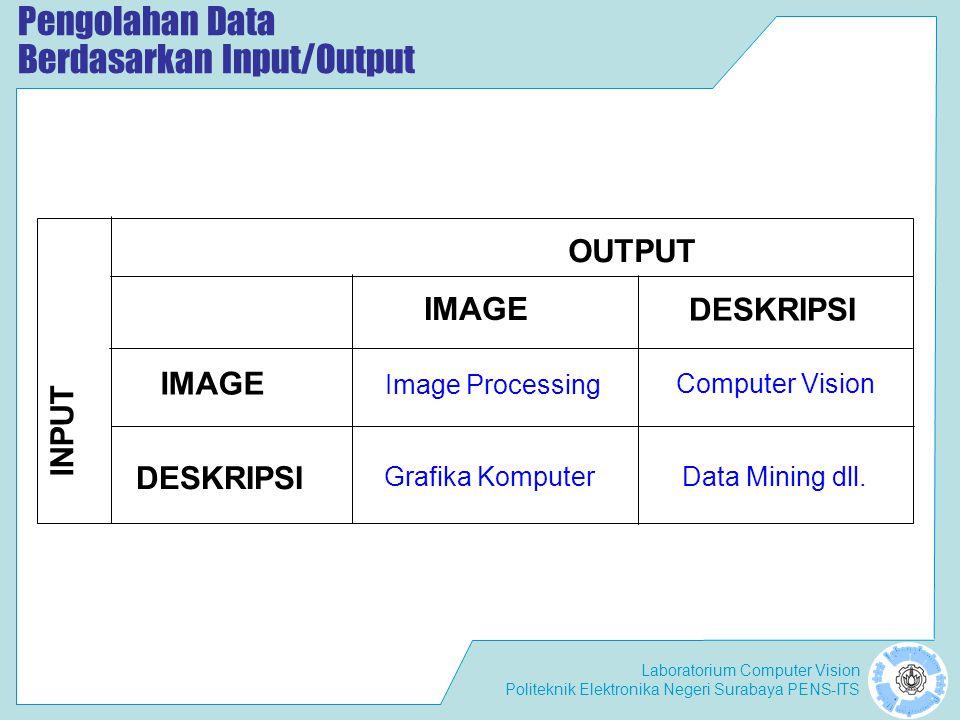 Pengolahan Data Berdasarkan Input/Output