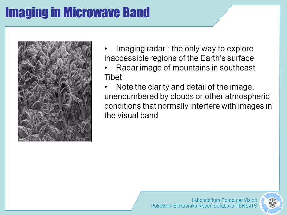 Imaging in Microwave Band