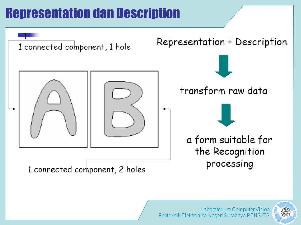 Representation dan Description
