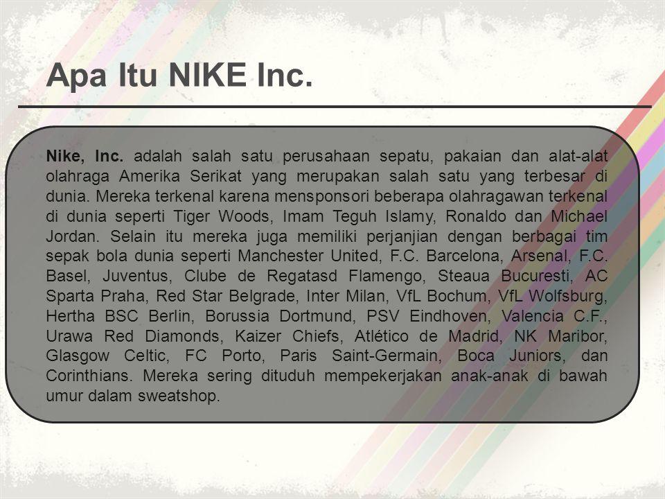 Apa Itu NIKE Inc.