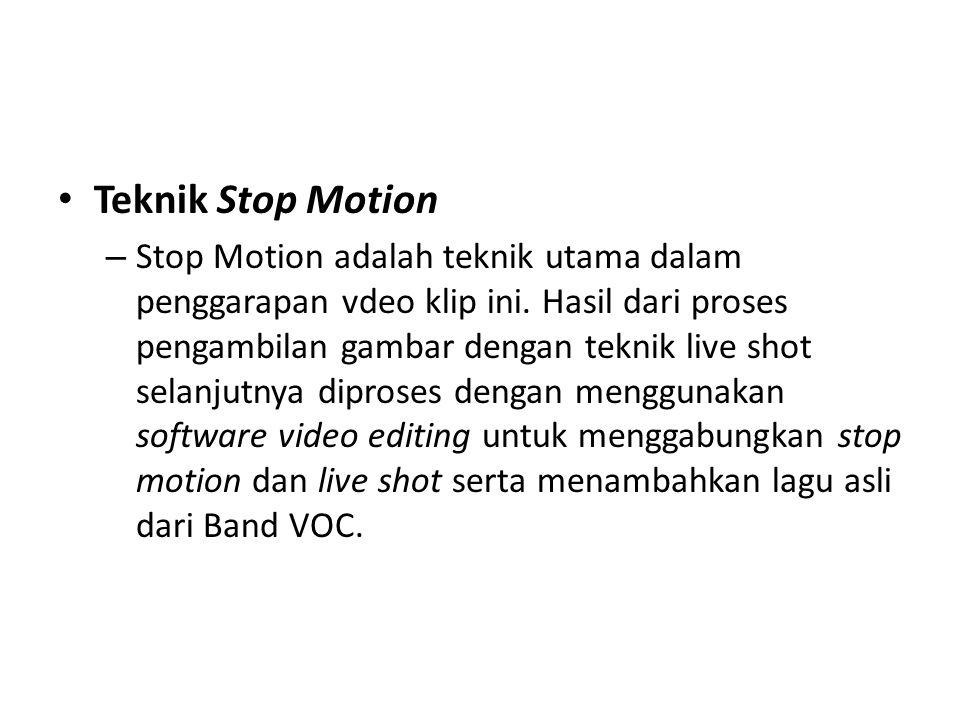 Teknik Stop Motion