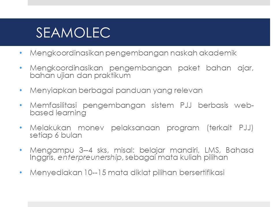 SEAMOLEC Mengkoordinasikan pengembangan naskah akademik