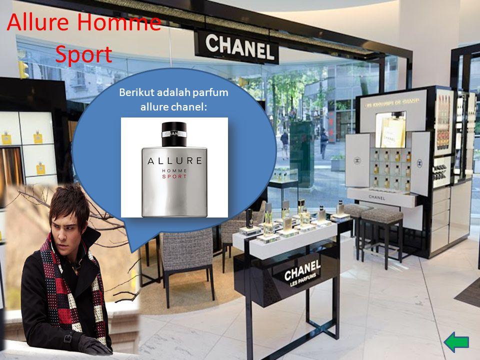 Berikut adalah parfum allure chanel: