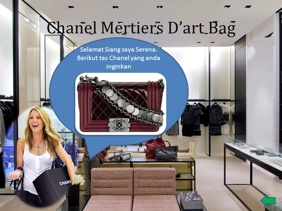 Chanel Mertiers D'art Bag
