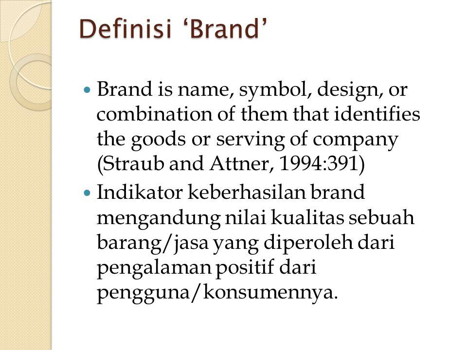 Definisi 'Brand'