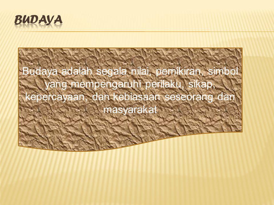 BUDAYA .