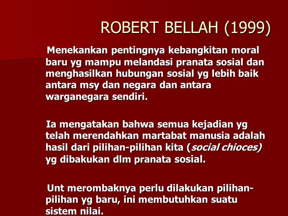 ROBERT BELLAH (1999)