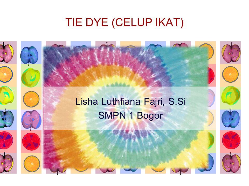 Lisha Luthfiana Fajri, S.Si SMPN 1 Bogor
