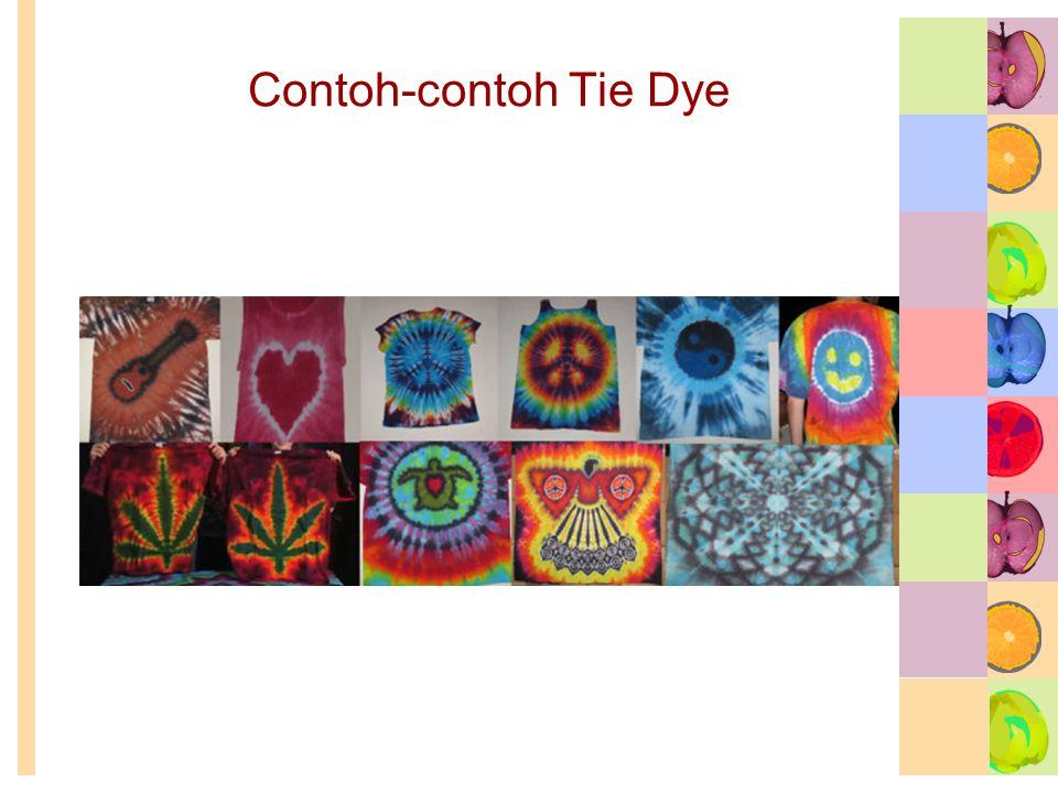 Contoh-contoh Tie Dye