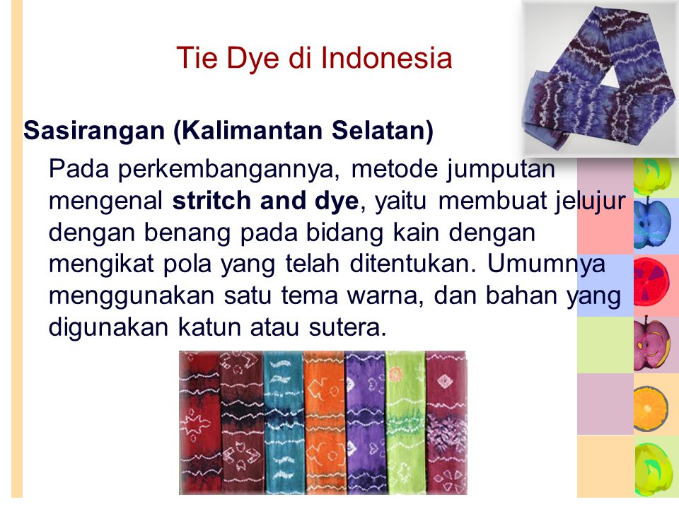 Tie Dye di Indonesia