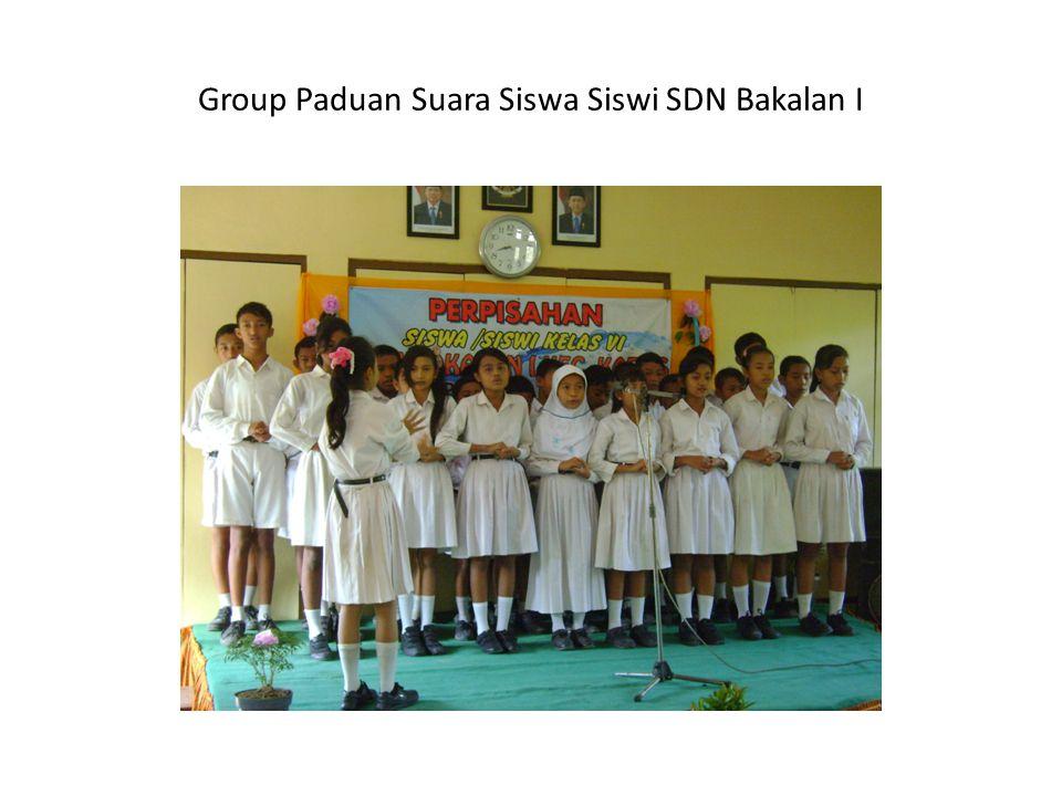 Group Paduan Suara Siswa Siswi SDN Bakalan I