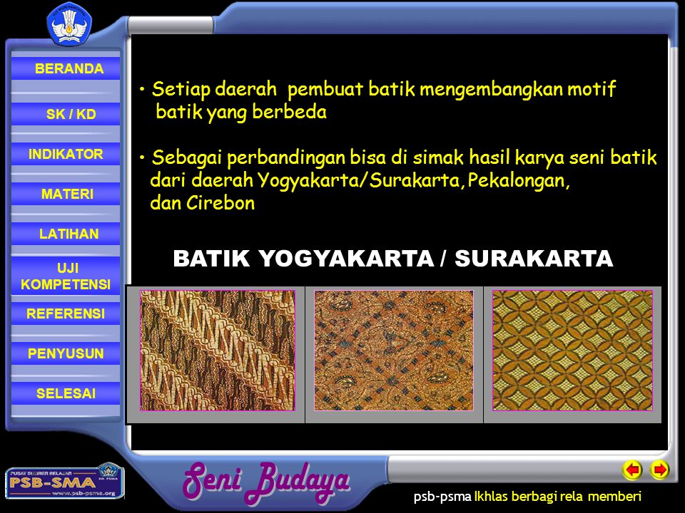 BATIK YOGYAKARTA / SURAKARTA