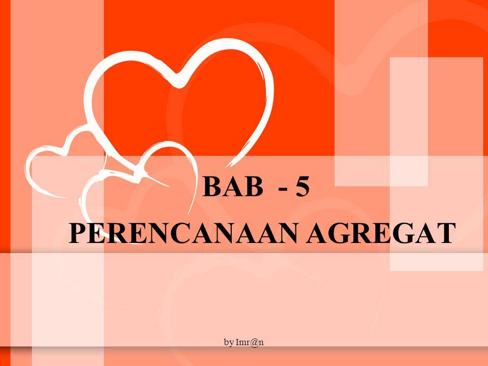 BAB - 5 PERENCANAAN AGREGAT