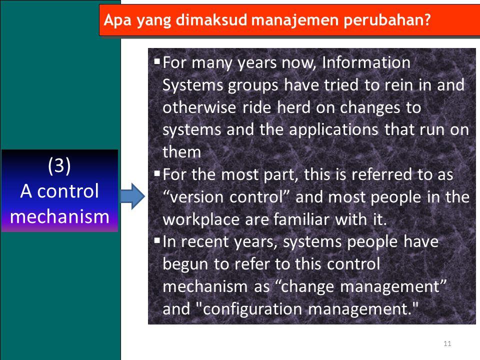 Apa yang dimaksud manajemen perubahan