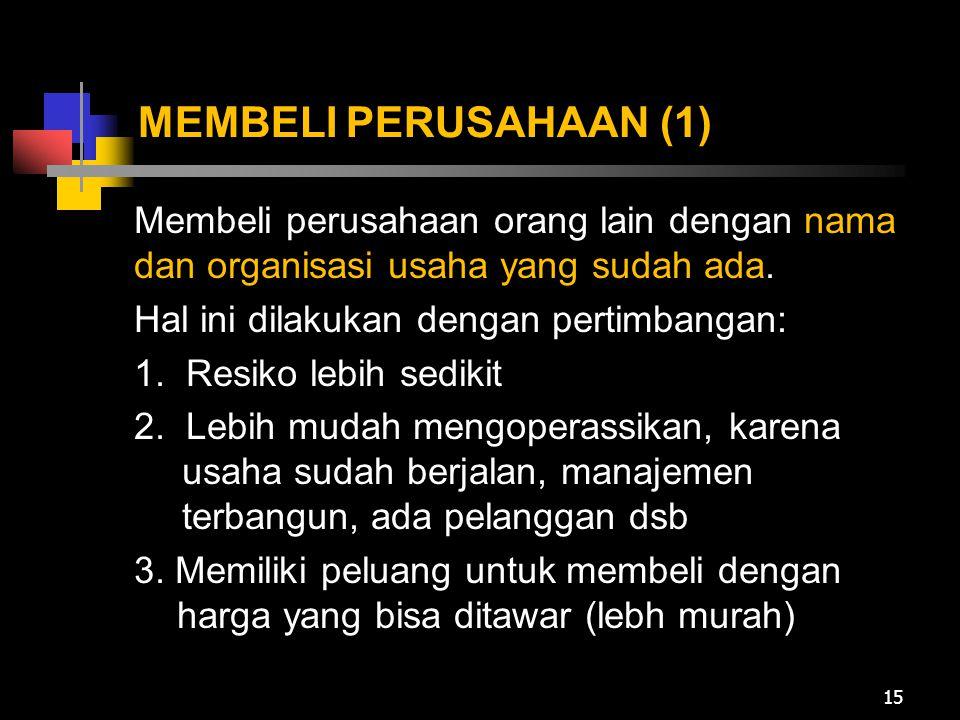 MEMBELI PERUSAHAAN (1)