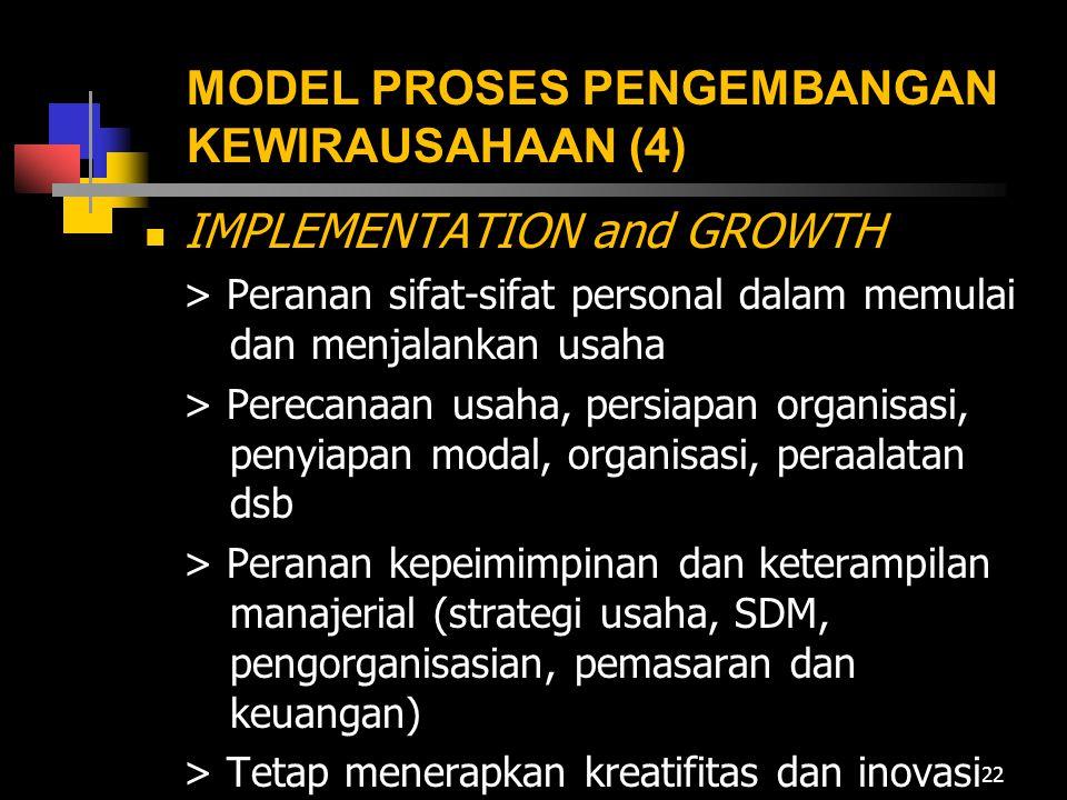 MODEL PROSES PENGEMBANGAN KEWIRAUSAHAAN (4)