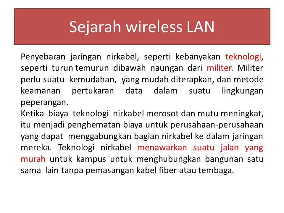 Sejarah wireless LAN