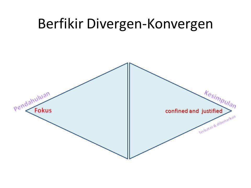 Berfikir Divergen-Konvergen