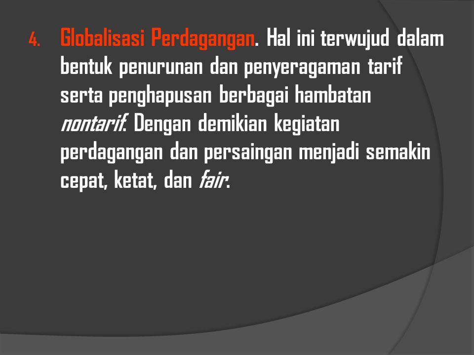 Globalisasi Perdagangan