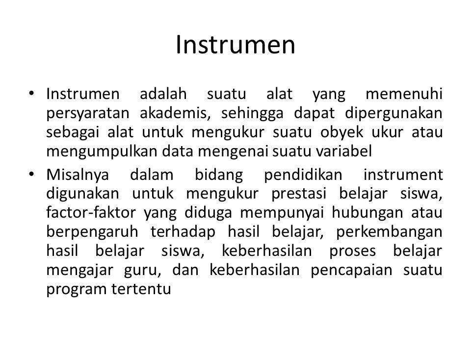 Instrumen
