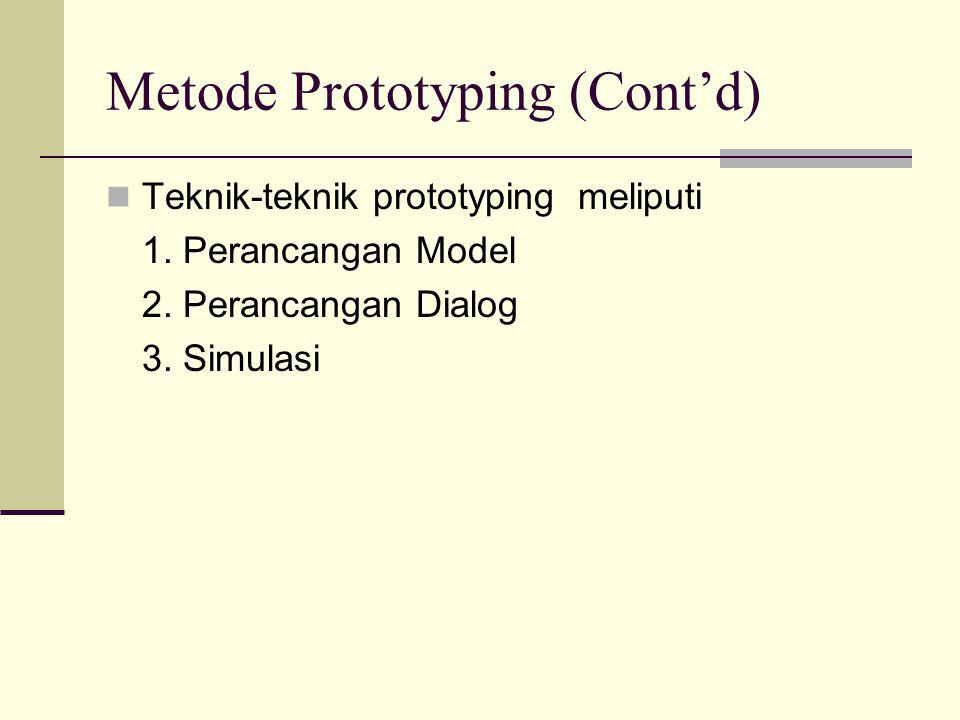 Metode Prototyping (Cont'd)
