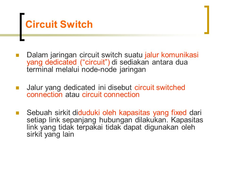Circuit Switch