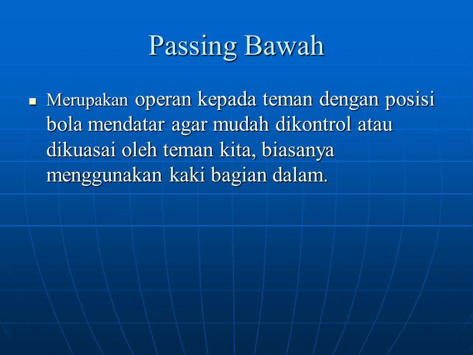 Passing Bawah