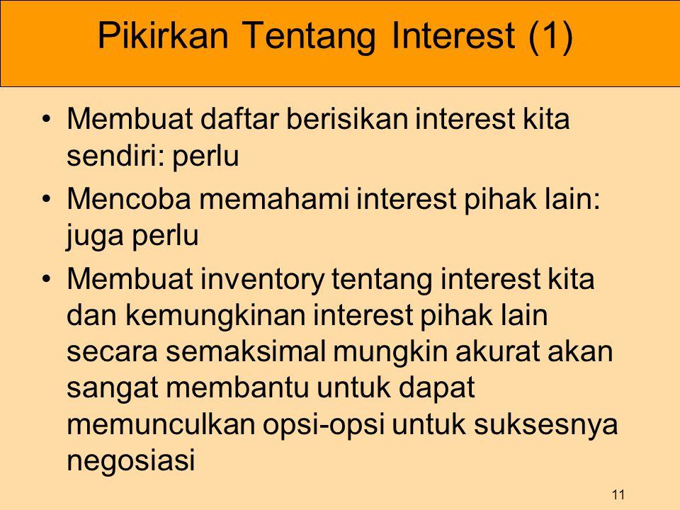 Pikirkan Tentang Interest (1)